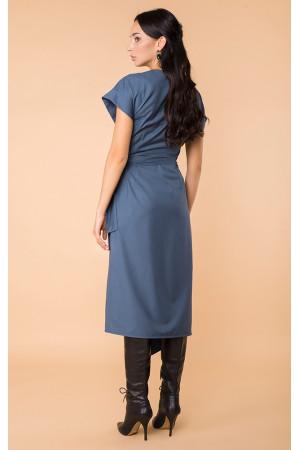 Платье «Эрнеста» синего цвета