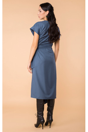 Сукня «Ернеста» синього кольору