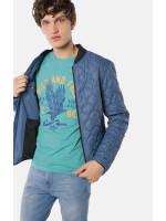 Мужская куртка «Бевис» синего цвета