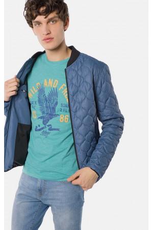 Чоловіча куртка «Бевіс» синього кольору