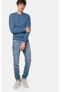 Чоловічий джемпер «Алтон» синього кольору