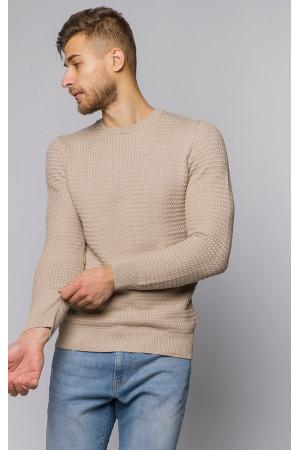 Чоловічий джемпер «Алтон» бежевого кольору