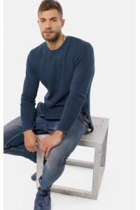 Мужской джемпер «Луис» темно-синего цвета