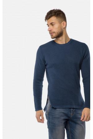 Чоловічий джемпер «Луіс» темно-синього кольору
