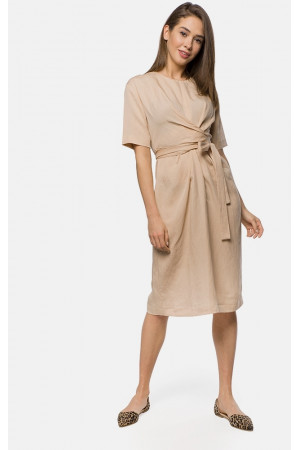 Платье «Вероника» бежевого цвета