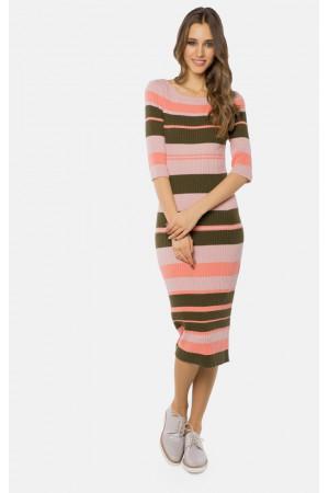 Платье «Бриско» розового цвета