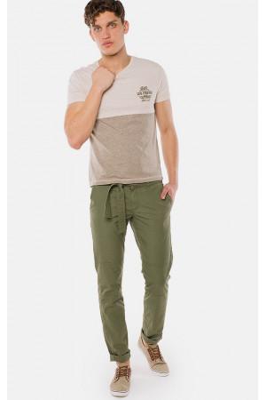 Мужские брюки «Шон» зеленого цвета