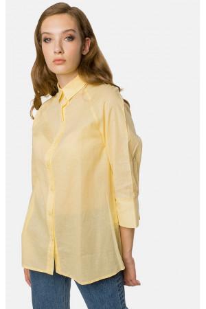 Сорочка «Коррін» жовтого кольору