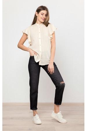 Рубашка «Солиэн» молочного цвета