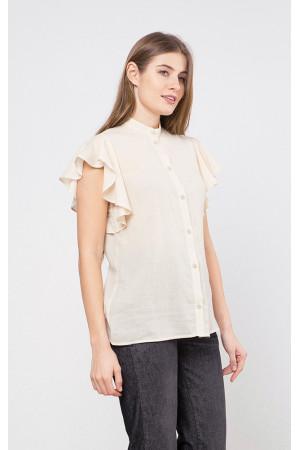 Сорочка «Соліен» молочного кольору
