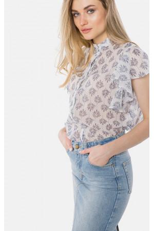 Сорочка «Лаура» бежевого кольору