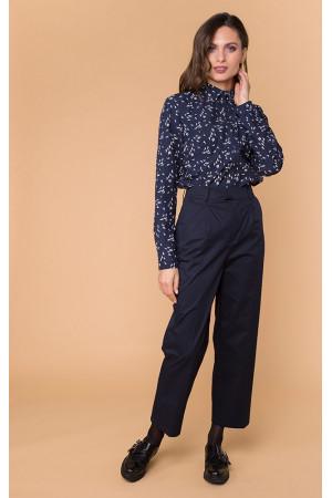 Рубашка «Найт» темно-синего цвета