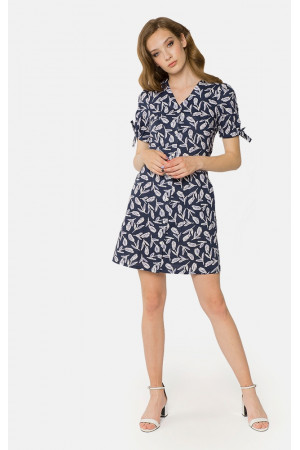 Платье «Трисс» синего цвета