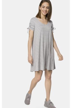 Платье «Вэрони» серого цвета