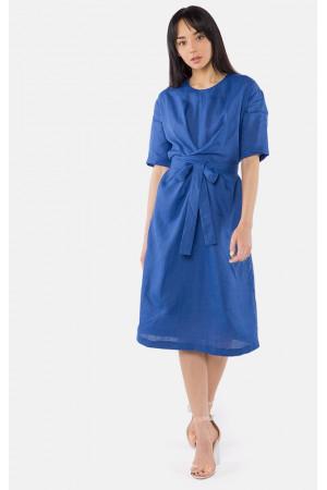 Платье «Золля» синего цвета