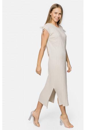 Сукня «Еліка» молочного кольору