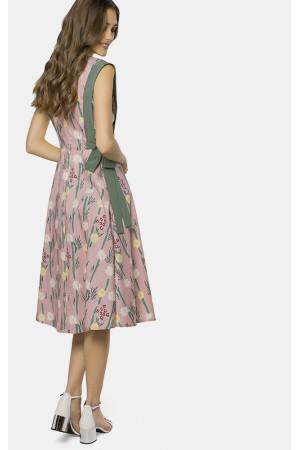 Платье «Окли» розового цвета