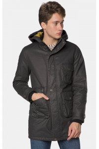 Мужская куртка «Данко» черного цвета