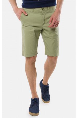 Чоловічі шорти «Ден» зеленого кольору