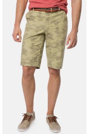 Чоловічі шорти «Африка» зеленого кольору