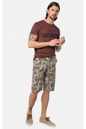 Чоловічі шорти «Шайн» кольору хакі