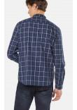 Чоловіча сорочка «Кріс» синього кольору