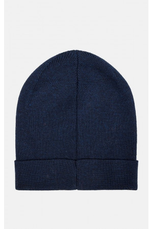 Мужская шапка «Кори» темно-синего цвета
