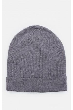 Чоловіча шапка «Корі» темно-сірого кольору