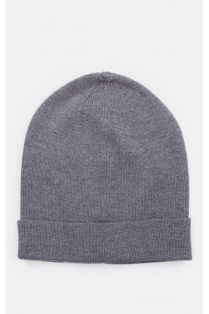 Мужская шапка «Кори» темно-серого цвета