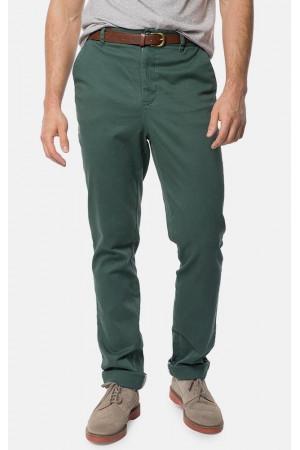 Мужские брюки «Дарэн» зеленого цвета