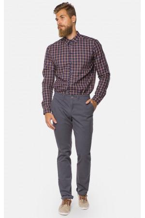 Мужские брюки «Берт» темно-серого цвета