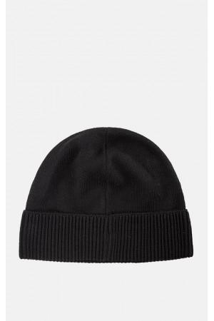 Мужская шапка «Родни» черного цвета