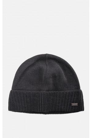 Мужская шапка «Родни» темно-серого цвета