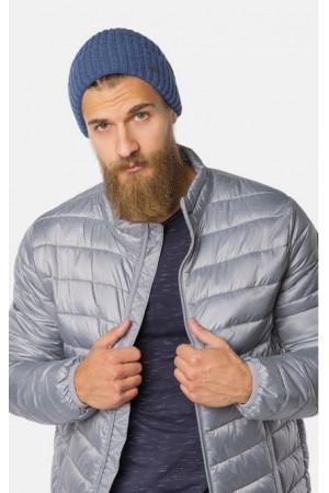 Мужская шапка «Лукас» голубого цвета