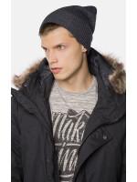 Чоловіча шапка «Нор» темно-сірого кольору