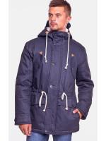Мужская куртка-парка «Берти» темно-синего цвета