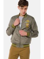 Мужская куртка «Лео» цвета хаки