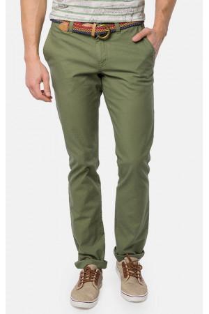 Мужские брюки «Чад» зеленого цвета