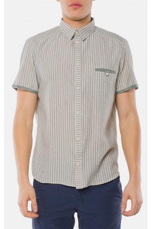 Мужская рубашка «Орман» мятного цвета