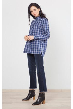 Рубашка «Канзас» синего цвета
