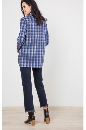 Сорочка «Канзас» синього кольору
