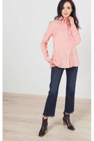 Рубашка «Ревекка» персикового цвета