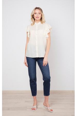Рубашка «Пэрри» молочного цвета
