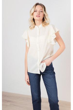 Сорочка «Перрі» молочного кольору
