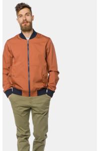 Чоловіча куртка «Райт» теракотового кольору