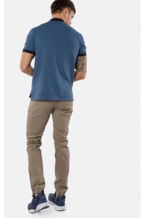 Чоловіче поло «Алекс» синього кольору