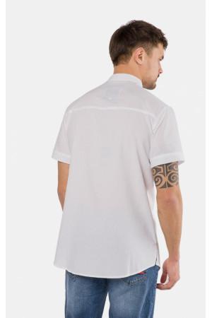 Мужская рубашка «Дастин» белого цвета
