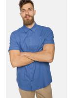 Мужская рубашка «Тим» синего цвета