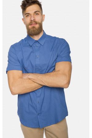 Чоловіча сорочка «Тім» синього кольору