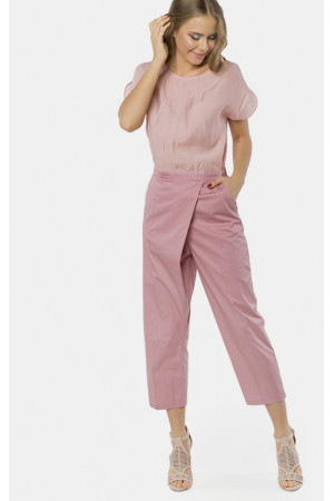 Комбинезон «Летний бриз» розового цвета